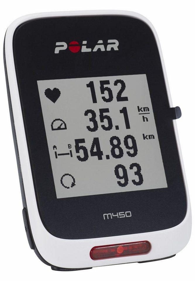 Polar Navigationsgerät »M450 GPS Fahrradcomputer + H7 Herzfrequenz-Sensor«