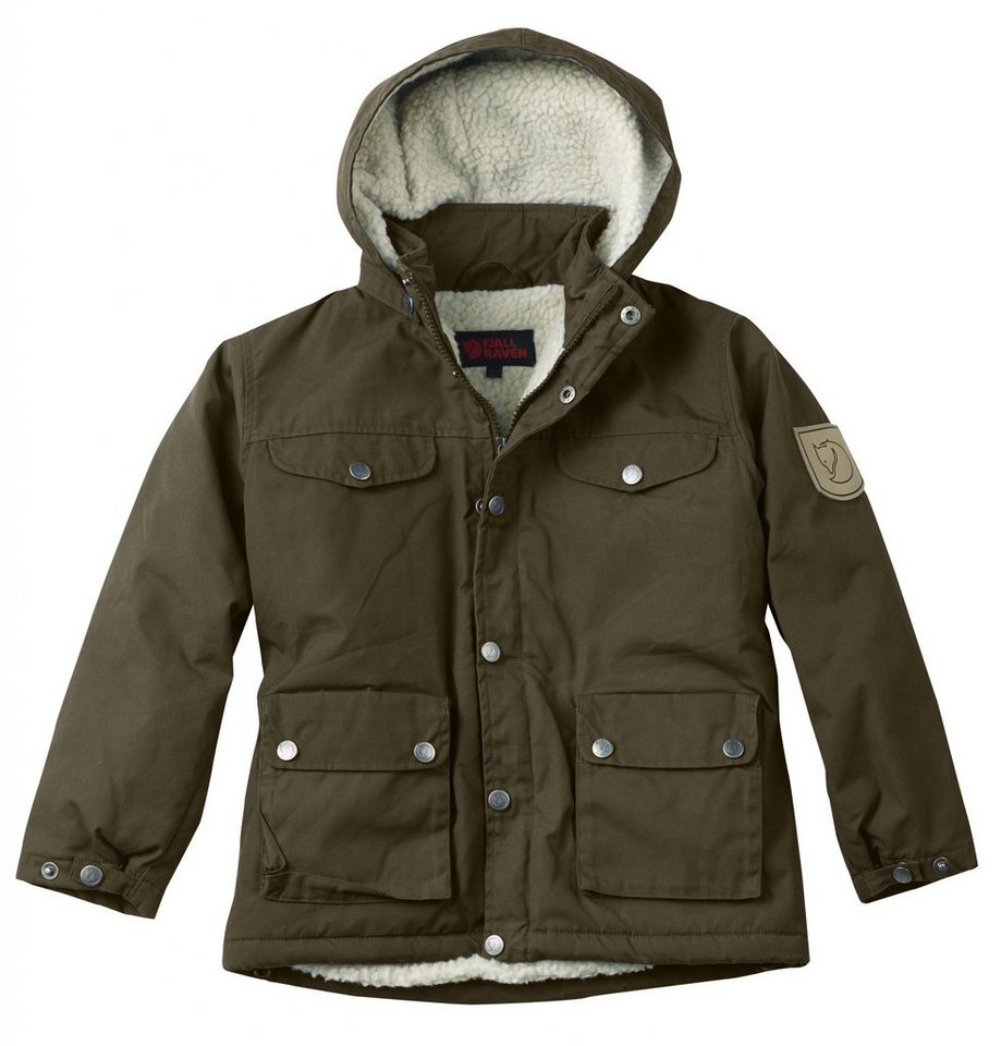 Fjällräven Outdoorjacke »Greenland Winter Jacket Kids« in oliv