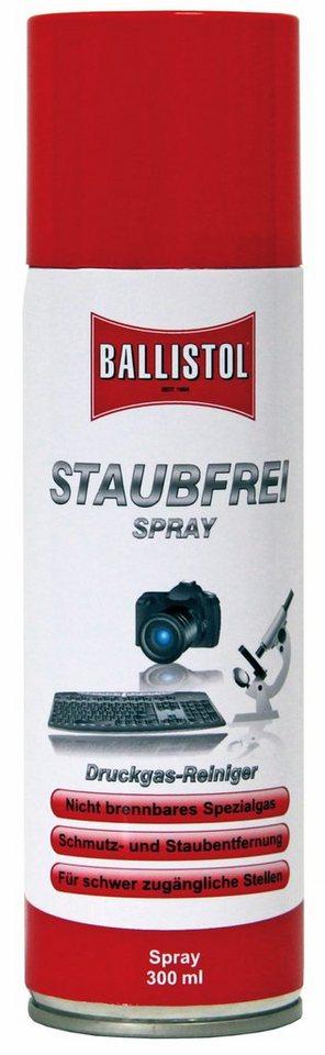 Ballistol Reinigungsmittel »Staubfrei Druckspray 300ml« in rot
