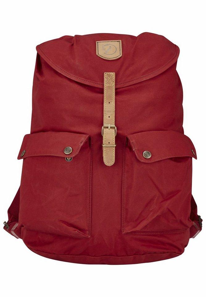 Fjällräven Sport- und Freizeittasche »Greenland Backpack Large« in rot