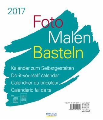 Kalender »Foto-Malen-Basteln weiß 2017«