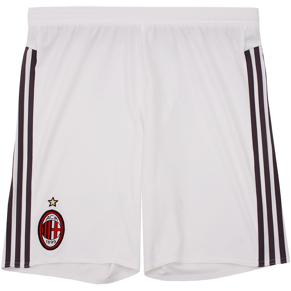 adidas Performance AC Mailand Short »Home 2016« in weiss