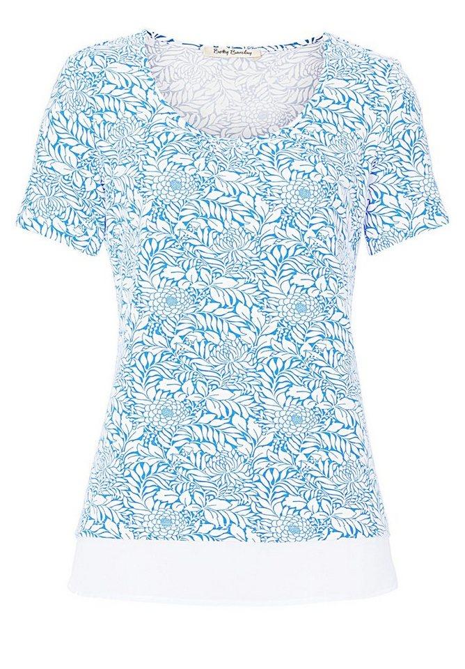 Betty Barclay Shirt in Blau/Weiß - Bunt