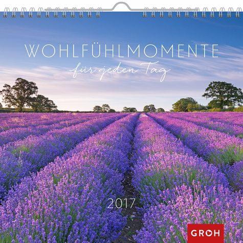 Kalender »Wohlfühlmomente 2017«