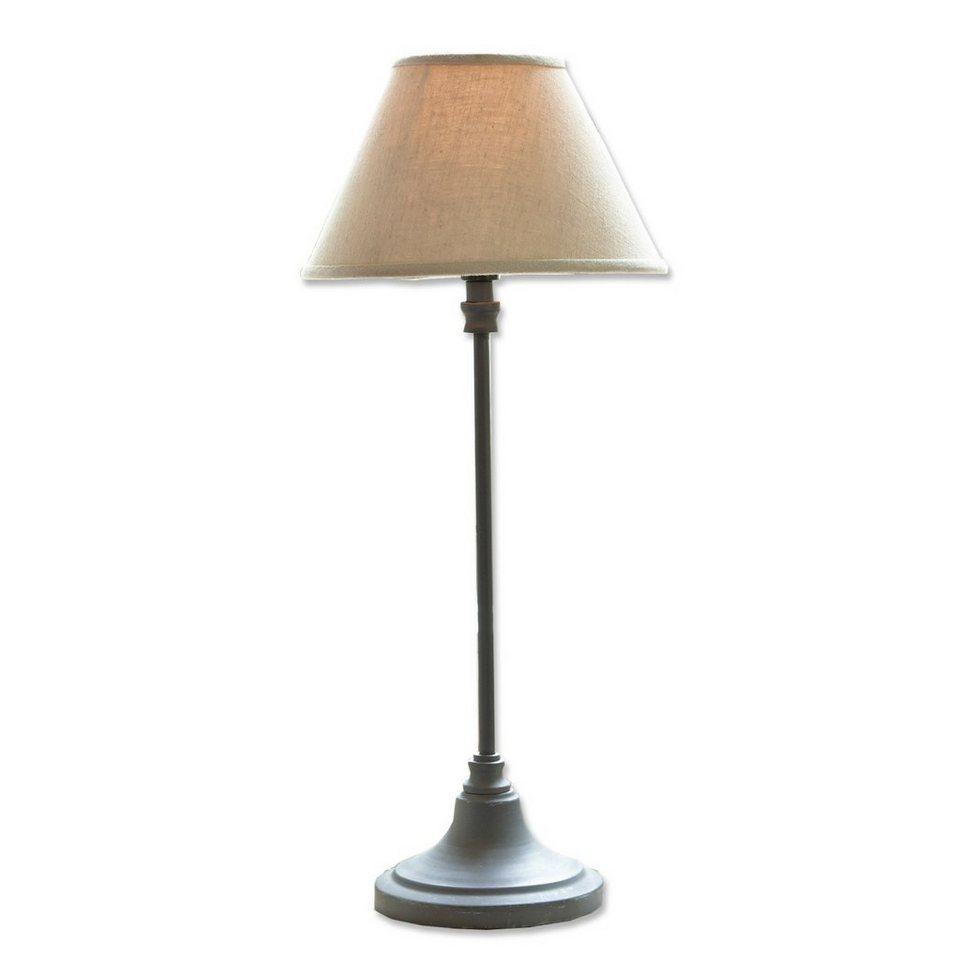 Loberon Tischlampe »Swindon« in grau/beige