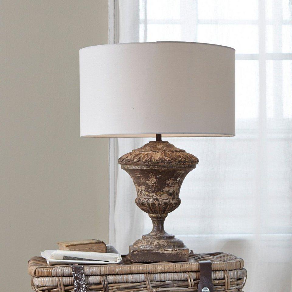 Loberon Tischlampe »Flavin« in antikbraun