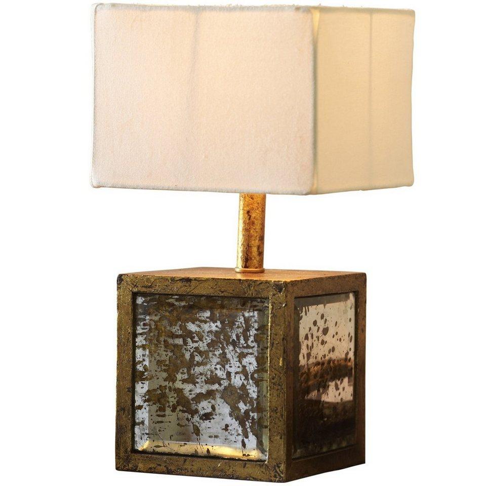Loberon Tischlampe »Basildon« in antikgold/creme