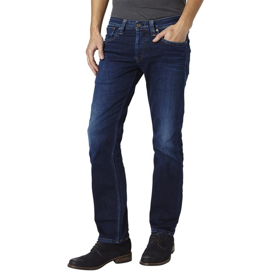 Pepe Jeans Jeans »KINGSTON ZIP dunkle Waschung« in Denim, blau