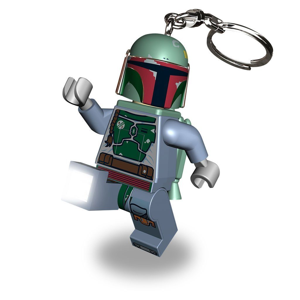 Lego Fanartikel »LEGO Star Wars - Boba Fett Minitaschenlampe «