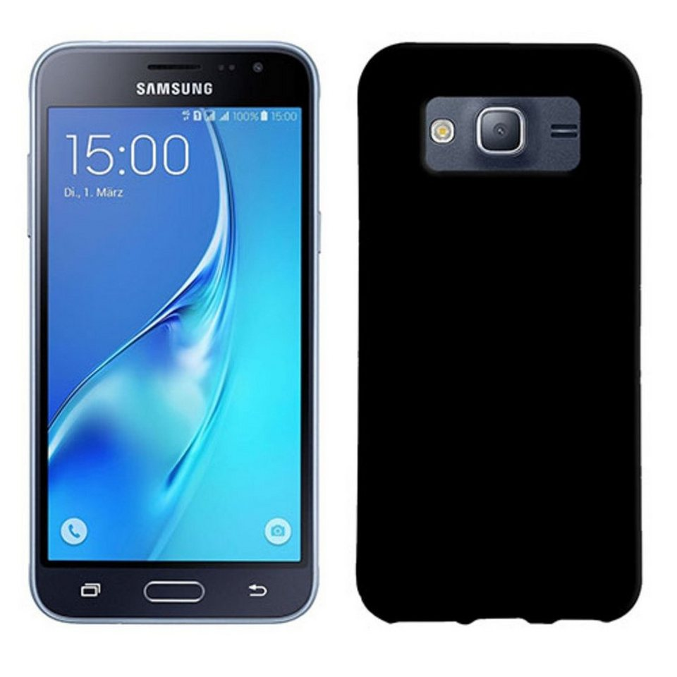 PEDEA Handytasche »Soft TPU Case (glatt) für Galaxy J3 2016« in Transparent