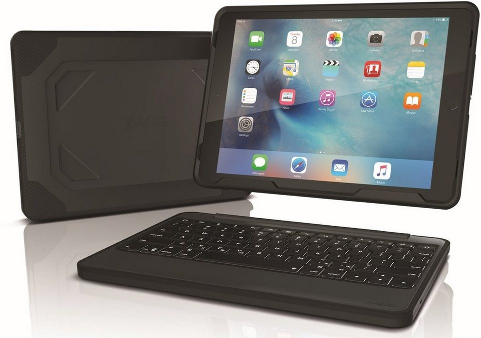 Zagg Tablettasche 187 Outdoor Folio Keyboard Case F 252 R Ipad