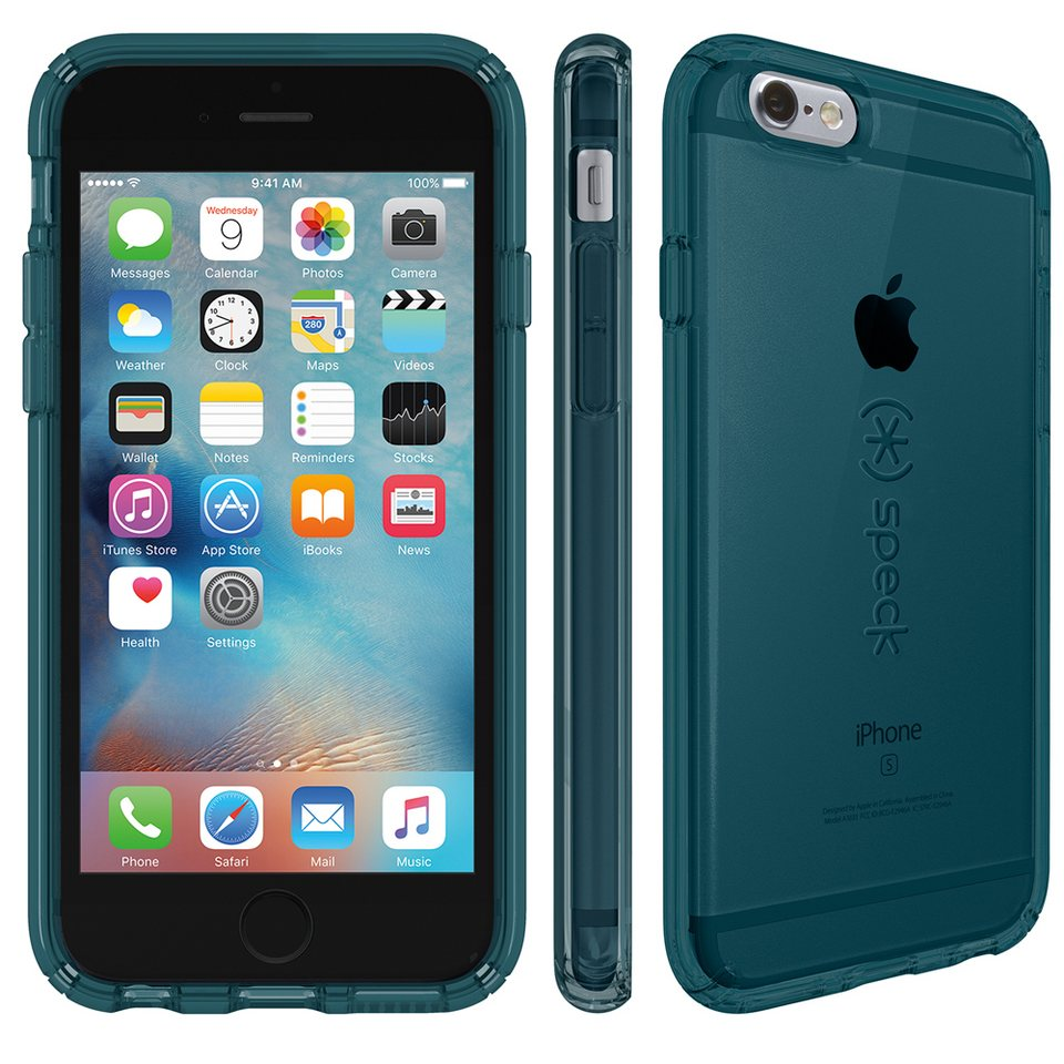 "Speck HardCase »CandyShell iPhone (6/6S) 4.7"" Clear RAINSTORM BLUE« in grün"