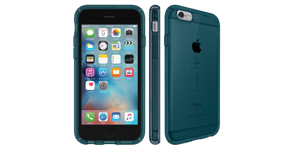 "Speck HardCase »CandyShell iPhone (6/6S) 4.7"" Clear RAINSTORM BLUE«"