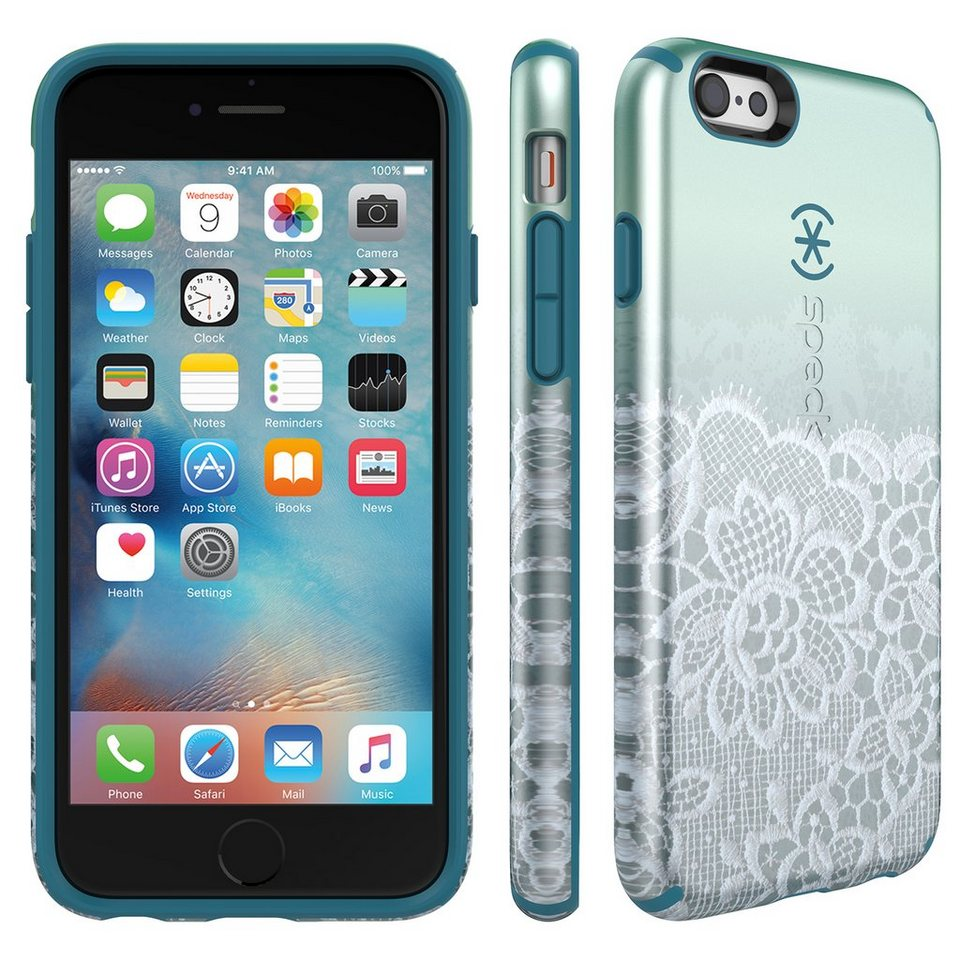 Speck HardCase »CandyShell Inked Luxury Edition SCALLOPED LACE TEA« in mehrfarbig