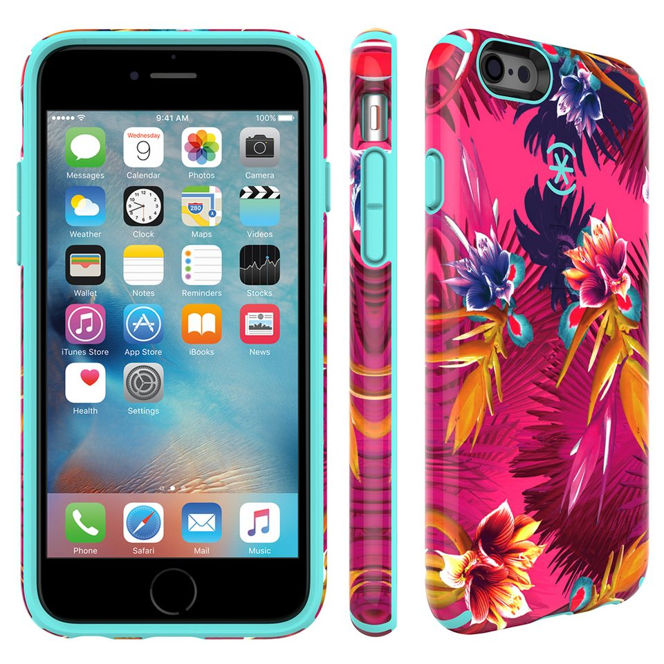 "Speck HardCase »CandyShell Inked iPhone (6/6S) Plus 5.5"" WILD TROP« in mehrfarbig"