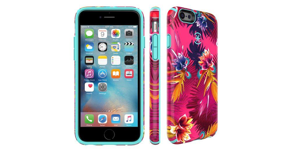 "Speck HardCase »CandyShell Inked iPhone (6/6S) 4.7"" WILD TROPIC FU«"