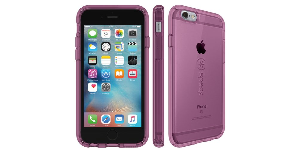 """Speck HardCase »CandyShell iPhone (6/6S) 4.7"""" Clear BEAMING ORCHID«"""