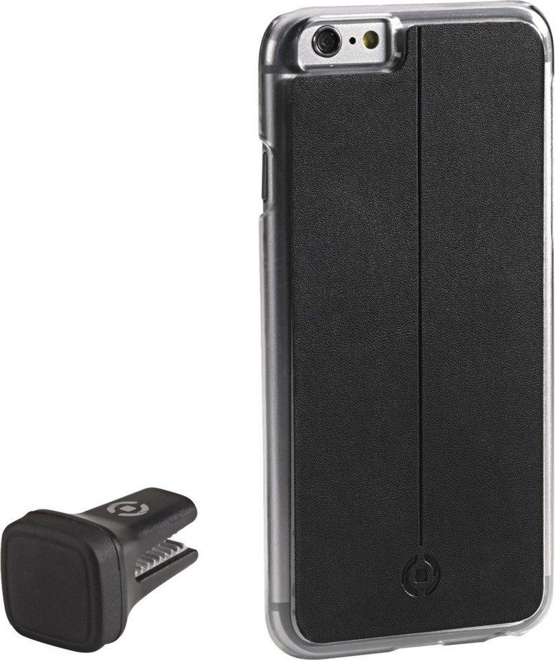 Celly Handyhülle mit Vent-Clip für das iPhone 6/6s »Smart Drive« in schwarz