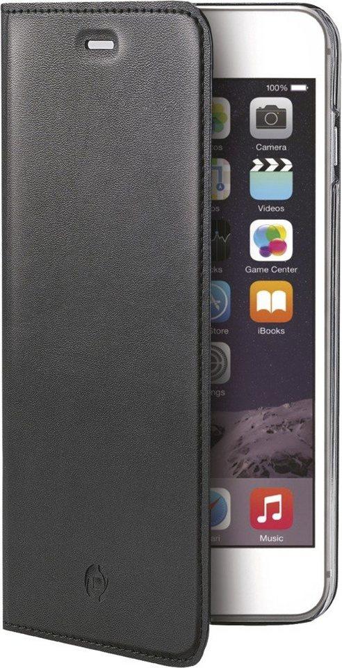 Celly Schlankes FlipCover für das iPhone 6/6s »Air Case« in schwarz