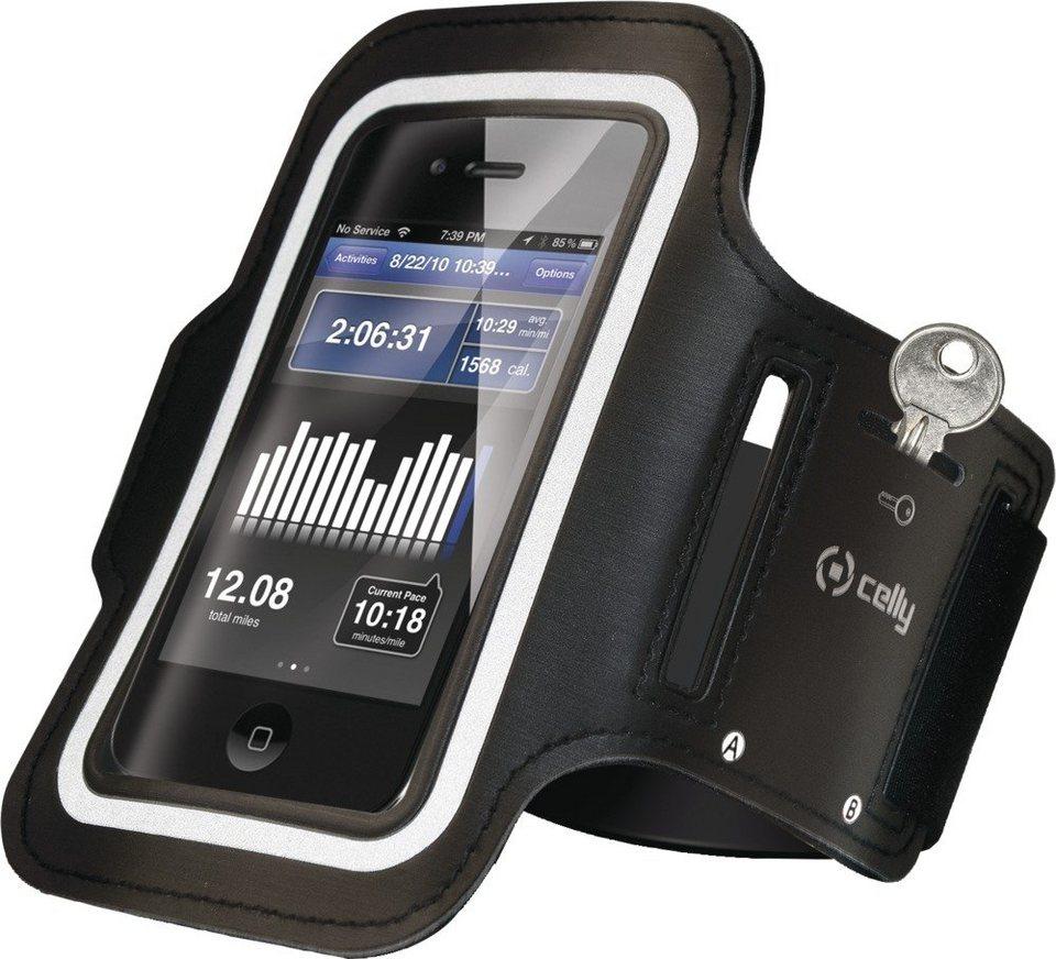 Celly Flexible Sport-Tasche für 6 Zoll Smartphones »Sport-Tasche« in schwarz