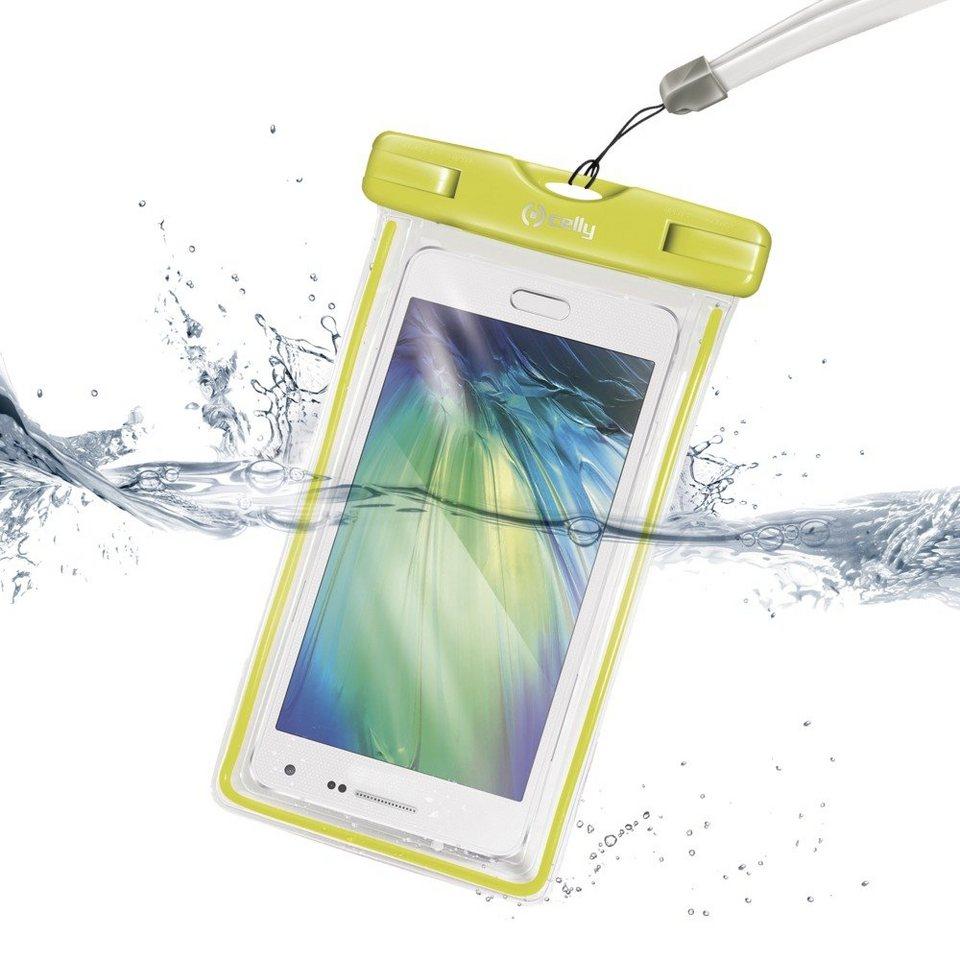 Celly Universelle Strandhülle für Smartphones »Splash« in grün