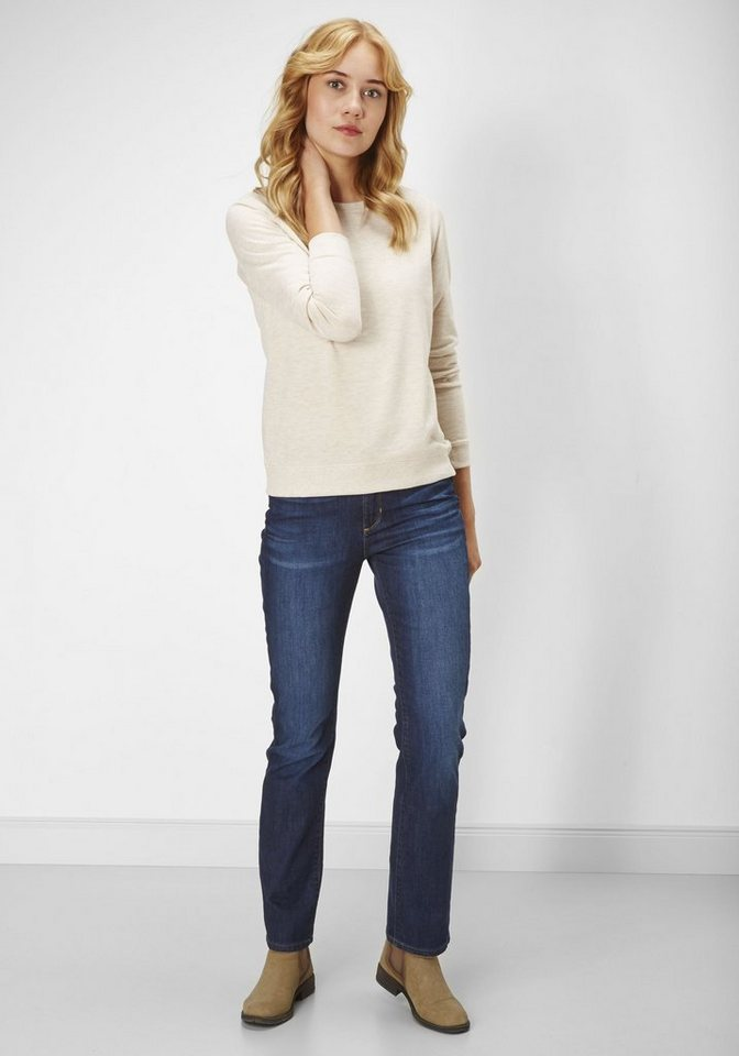 PADDOCK'S High-waist Stretch Jeans »KATE« in dk.blue using