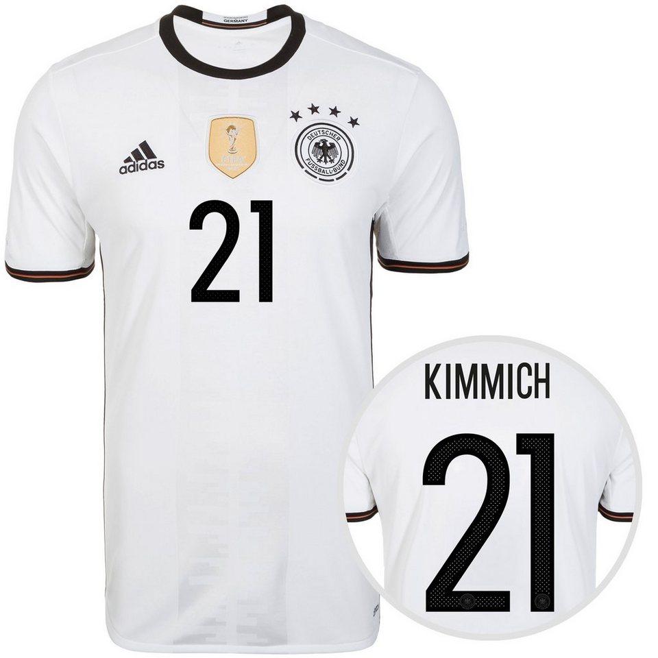 adidas Performance DFB Trikot Home Kimmich EM 2016 Herren in weiß / schwarz