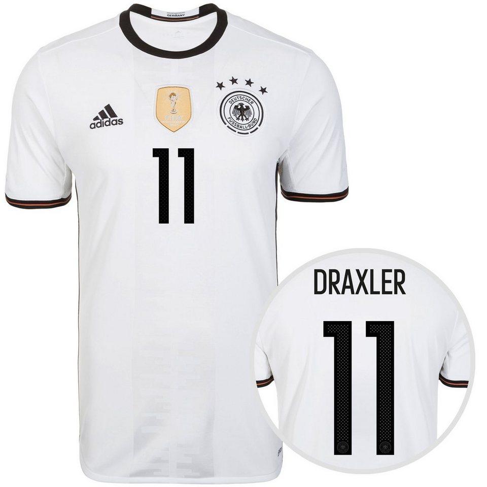 adidas Performance DFB Trikot Home Draxler EM 2016 Herren in weiß / schwarz