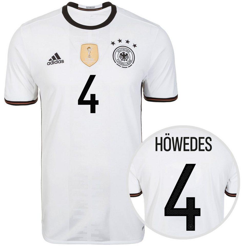 adidas Performance DFB Trikot Home Höwedes EM 2016 Herren in weiß / schwarz