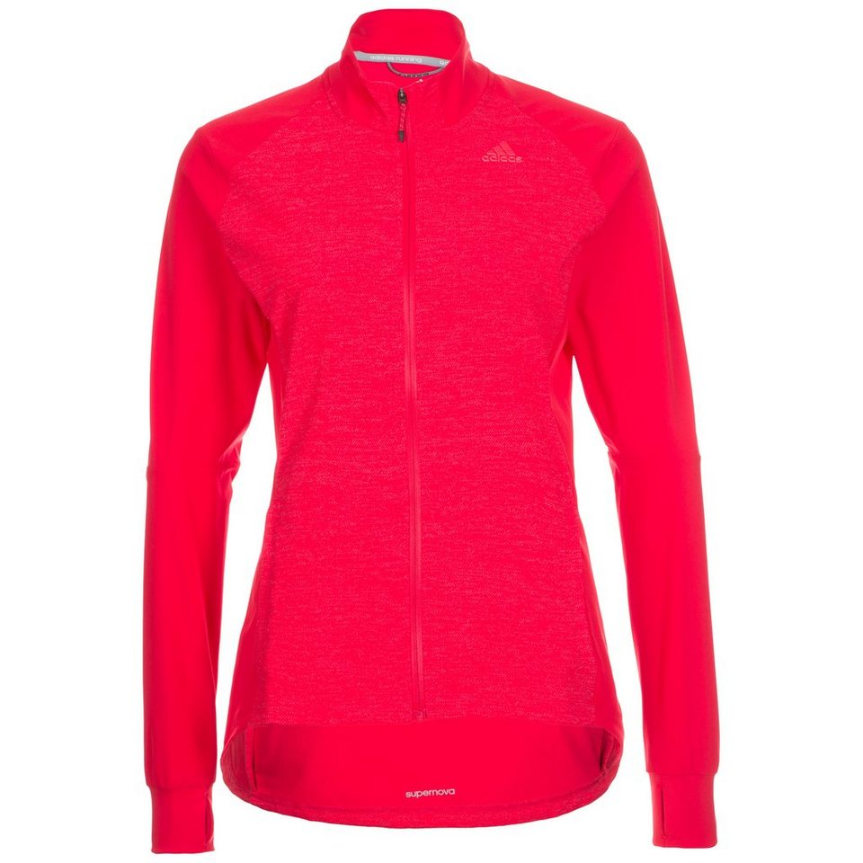 adidas Performance Supernova Storm Laufjacke Damen in rot