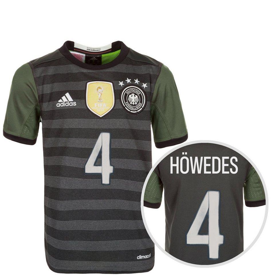 adidas Performance DFB Trikot Away Höwedes EM 2016 Kinder in grau / weiß / grün