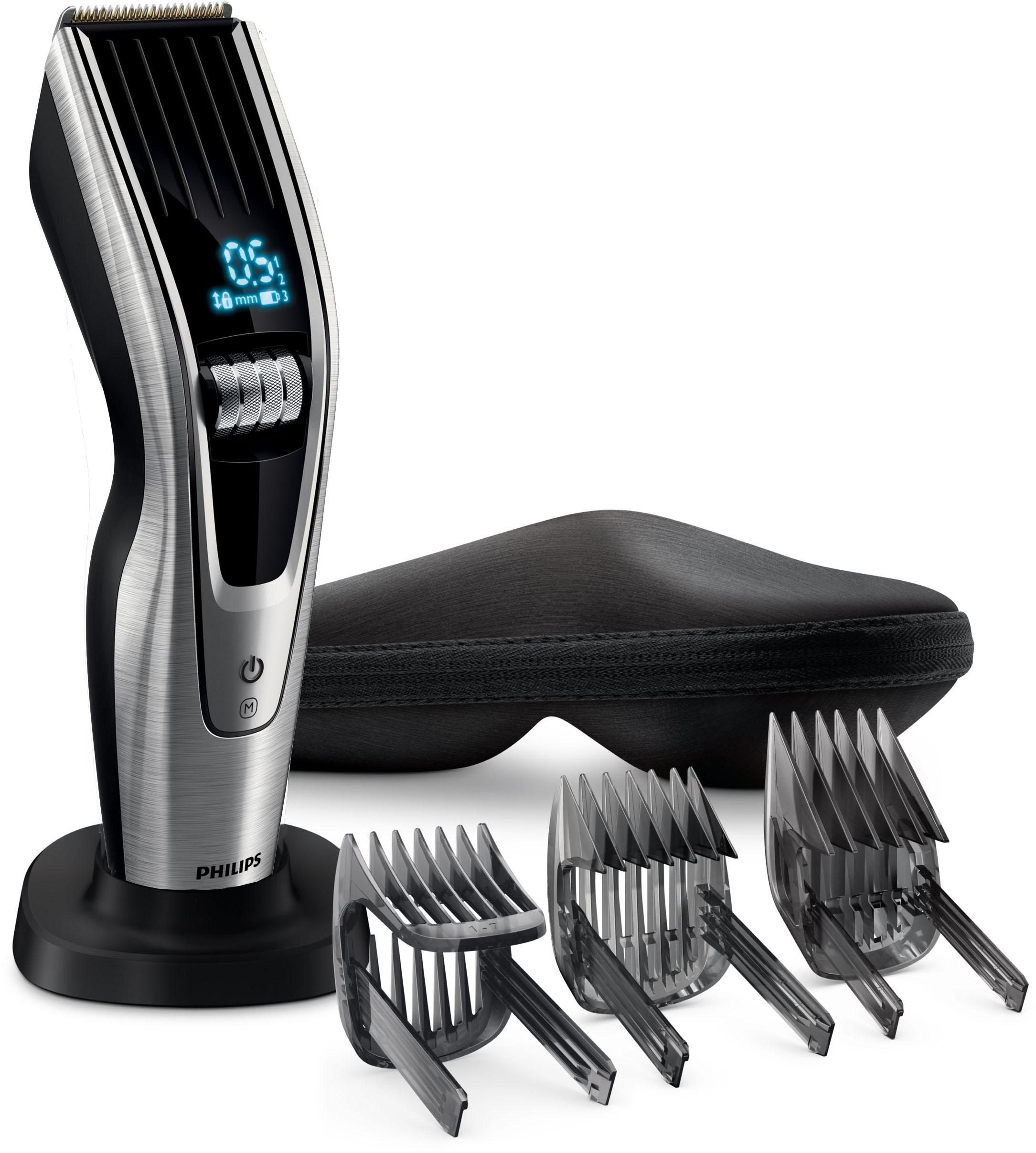 Philips Haar- und Bartschneider Series 9000 HC9490/15, Titaniumklingen