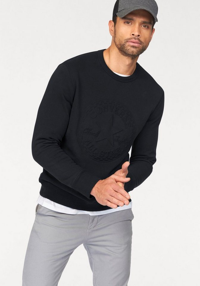Converse Sweatshirt in schwarz