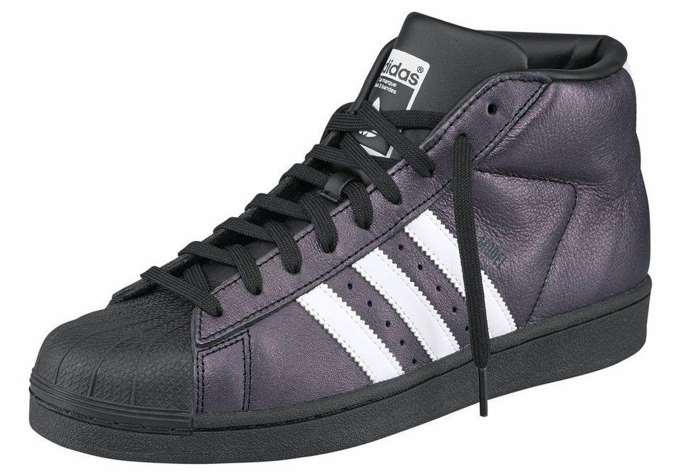 adidas Originals »Superstar Pro Model« Sneaker in schwarz-weiß