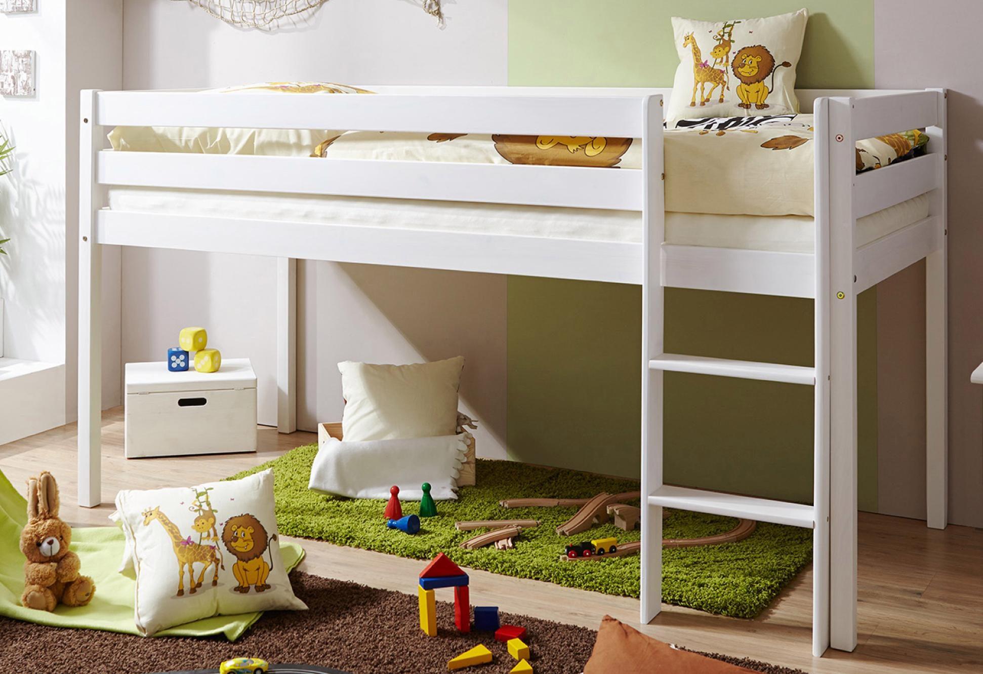 Etagenbett Weiß Preisvergleich : Ticaa etagenbett rene weiß oliver i ab