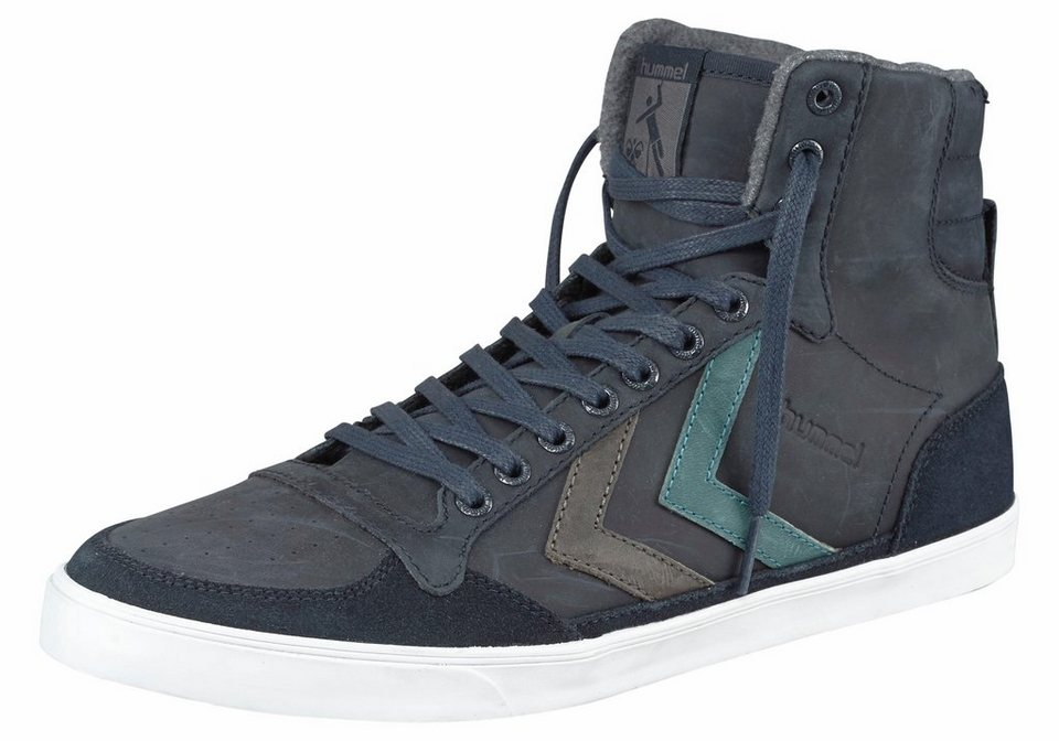 Hummel »Slimmer Stadil Duo Oiled« Sneaker in dunkelblau