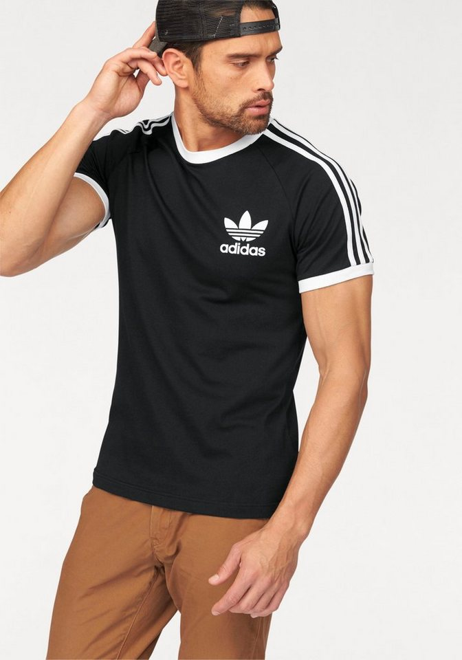 adidas Originals T-Shirt in schwarz