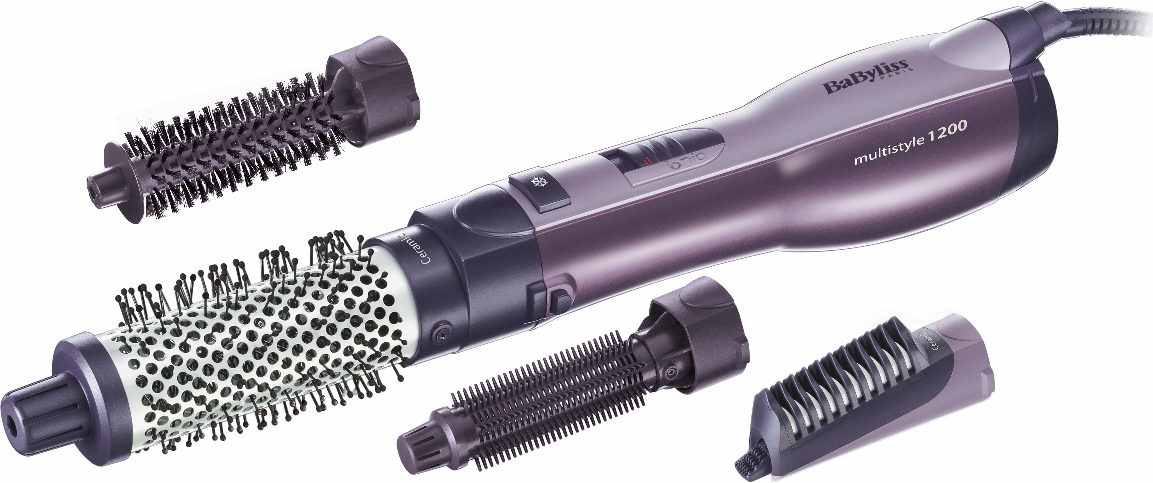 BaByliss Warmluftbürste Multistyle AS121E, Trocknen & Stylen 2 in 1