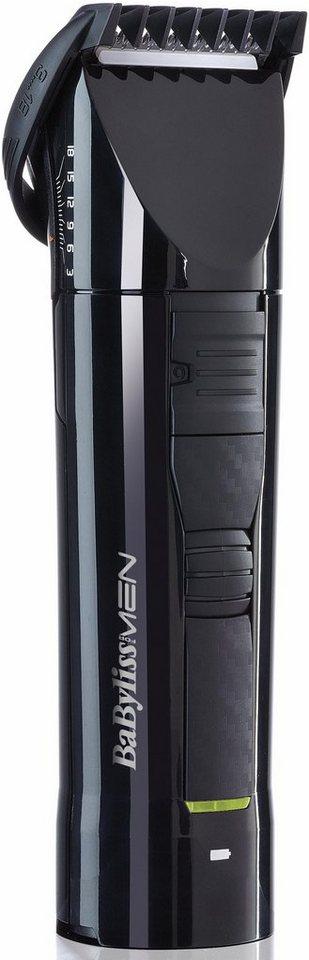 BaByliss Haar- und Bartschneider W-Tech E751E in schwarz