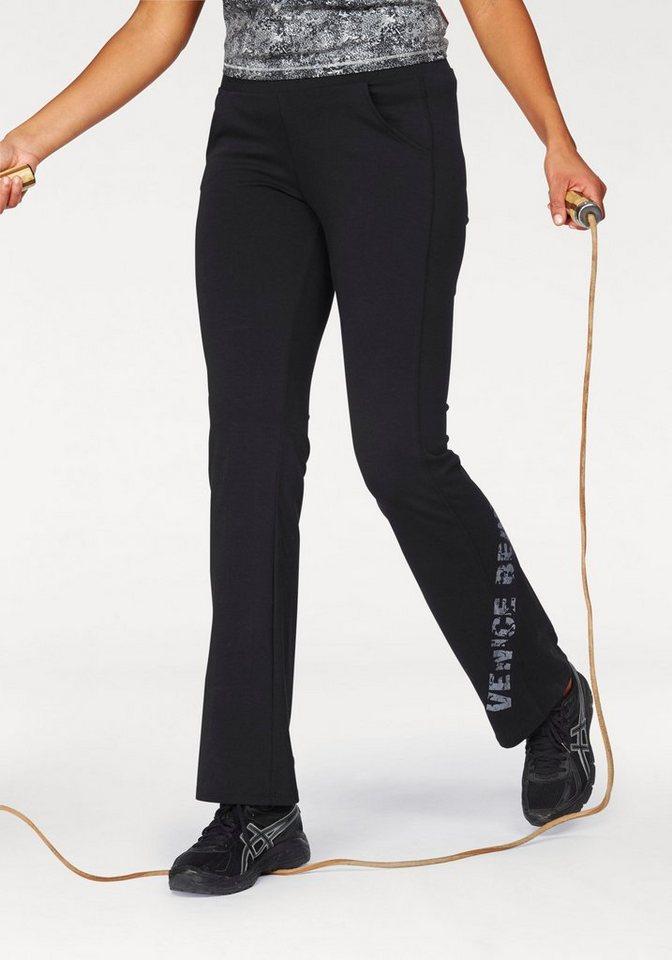 Venice Beach Jazzpants in schwarz