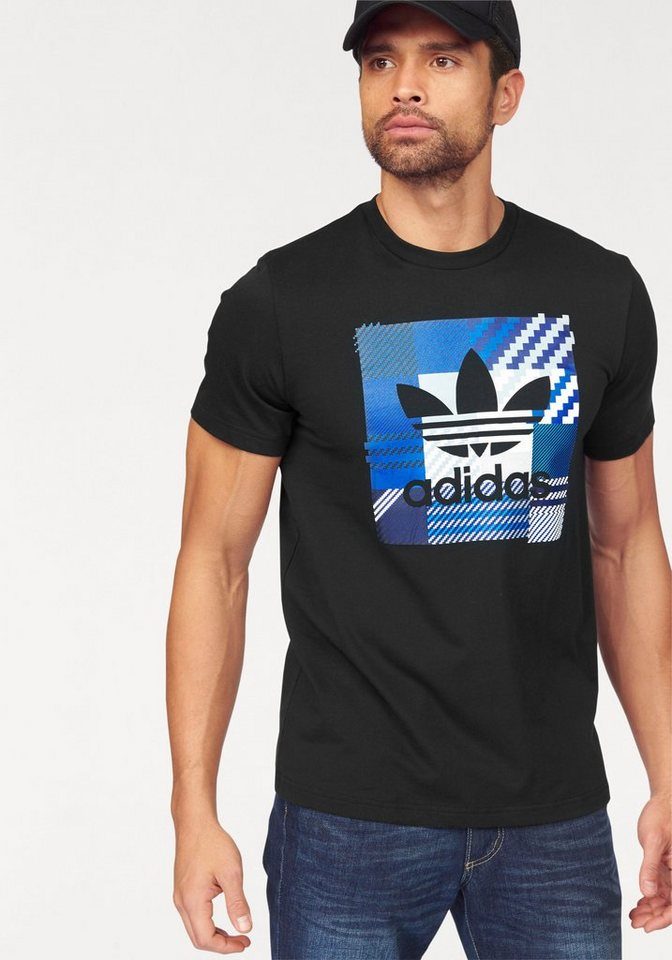 adidas Originals T-Shirt »IMPO CHECK TEE« in schwarz