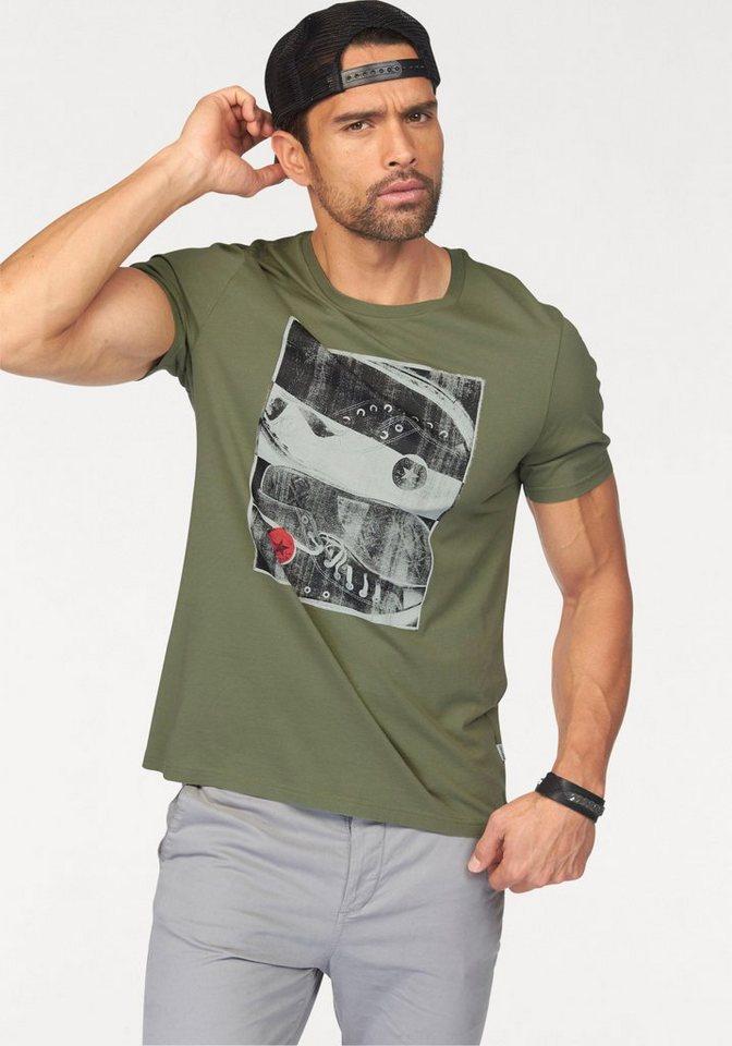 Converse T-Shirt in khaki