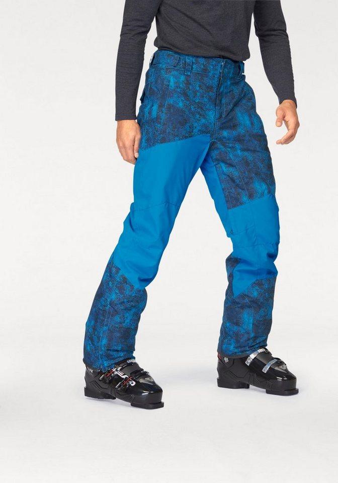 Chiemsee Skihose in blau-schwarz
