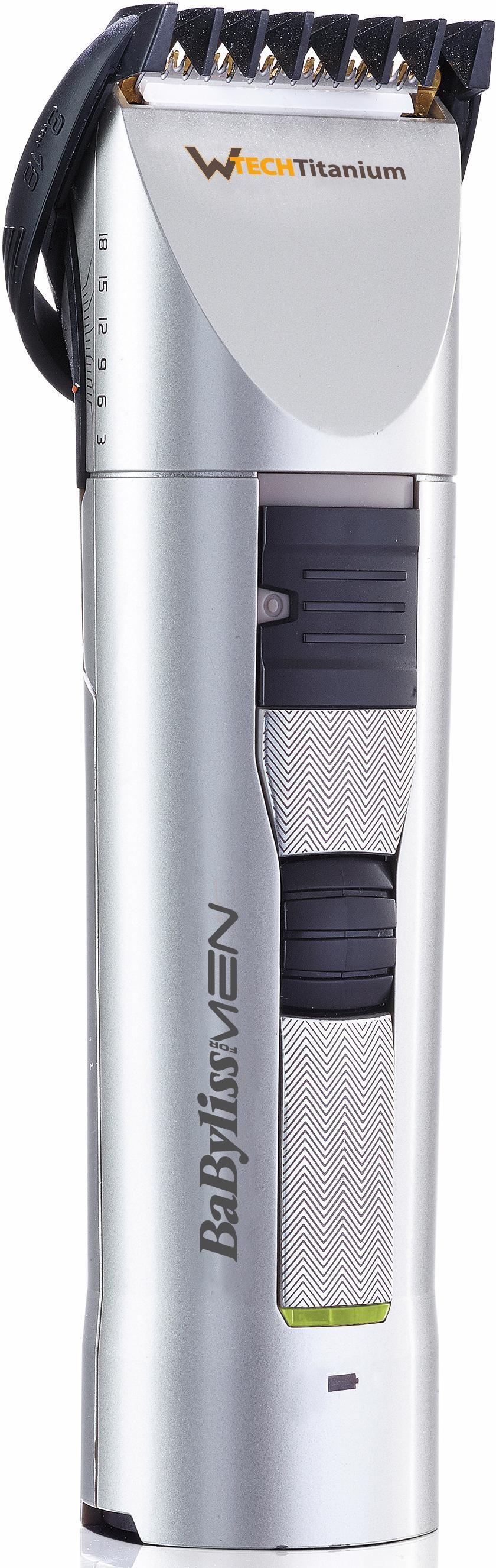 BaByliss Haar- und Bartschneider W-Tech Titanium E781E