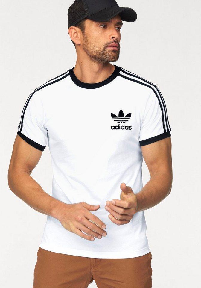 adidas Originals T-Shirt in weiß