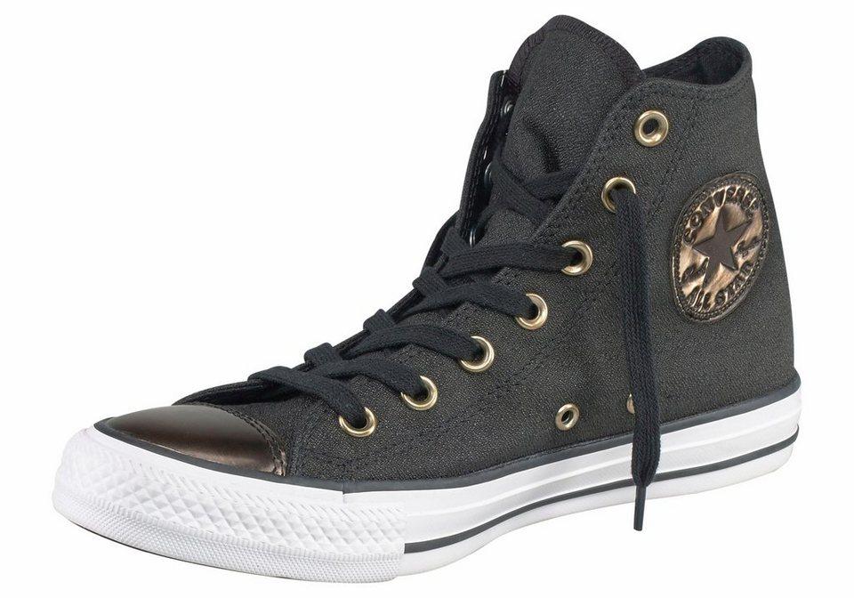 Converse »Chuck Taylor All Star Brush Off Toecap« Sneaker in schwarz-goldfarben