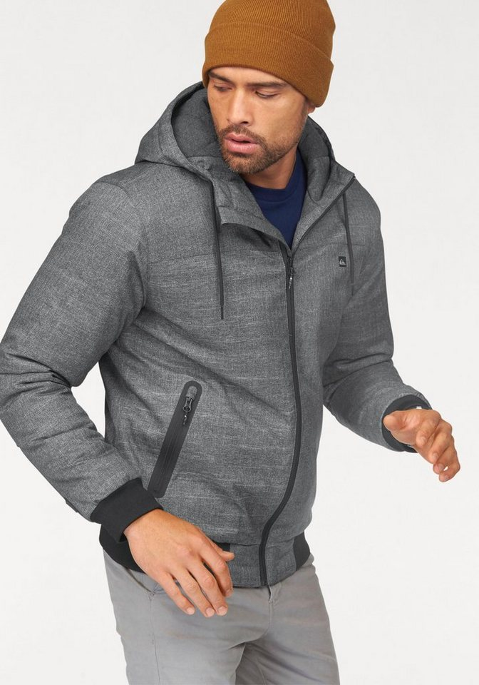 Quiksilver Outdoorjacke in dunkelgrau
