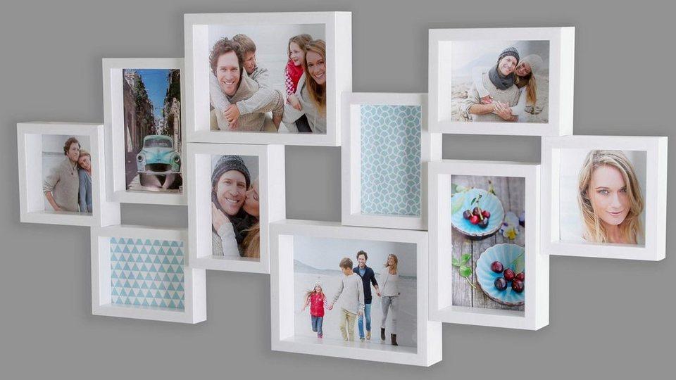 Home affaire Galerierahmen »Apart 10« in weiß