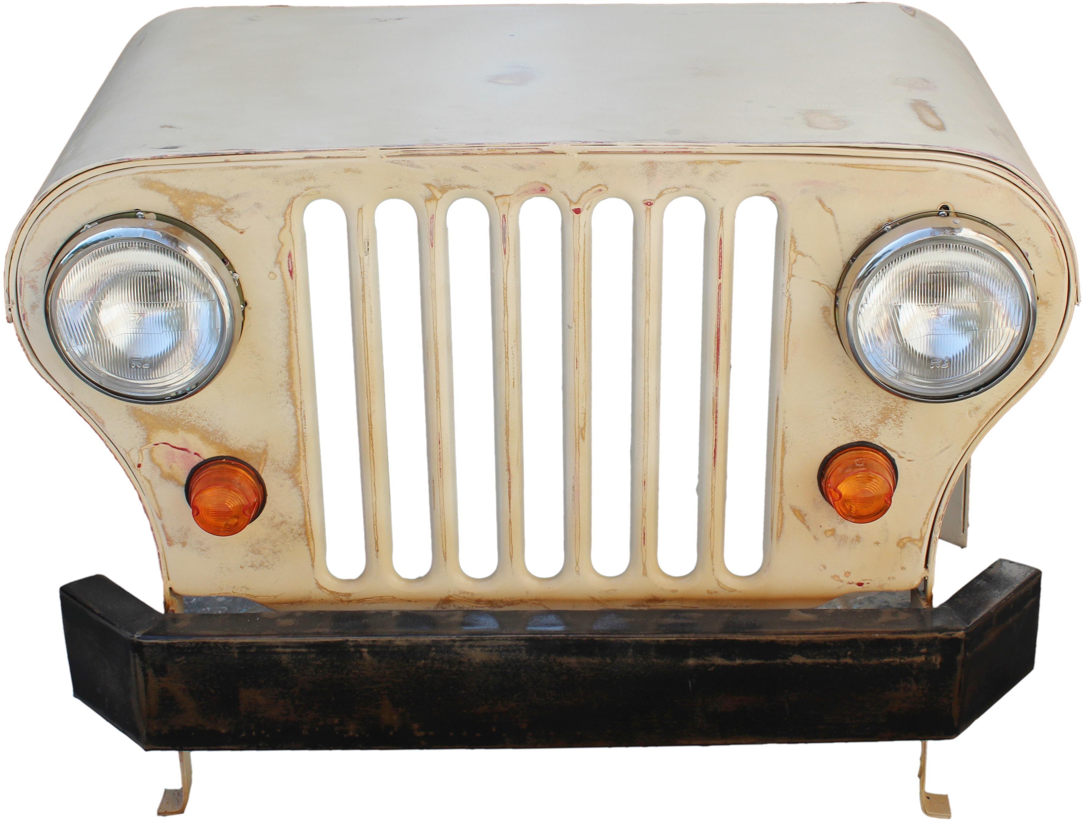 SIT Schreibtisch »Jeep« aus recycelter Autofront