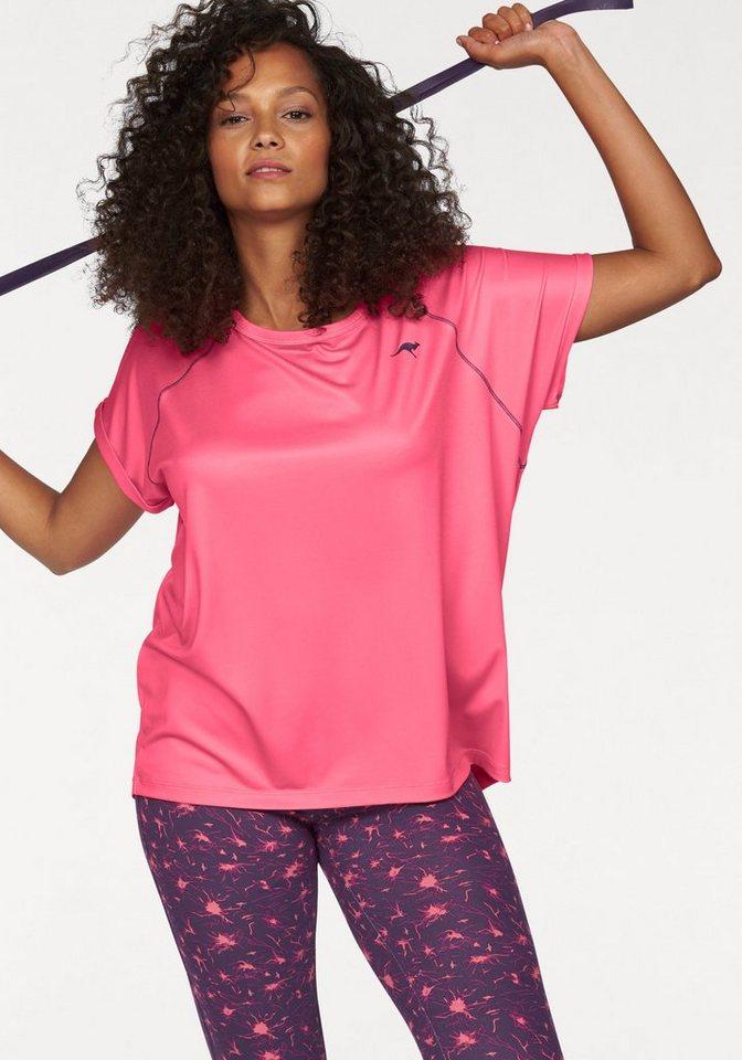 KangaROOS Funktionsshirt Oversize in rosa